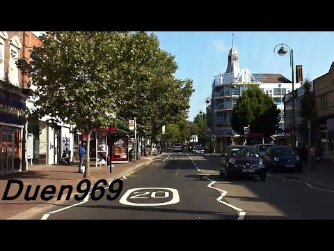London Streets (505.) - Leytonstone - Epping - A406 - Muswell Hill - Highgate