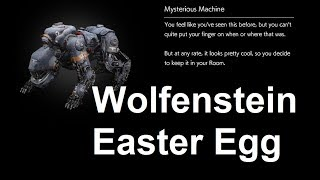 The Evil Within 2 Wolfenstein Easter Egg