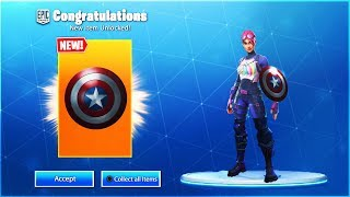 "Wie man ""CAPTAIN AMERICA"" Schild in Fortnite Saison 8 (Fortnite x Avengers)"