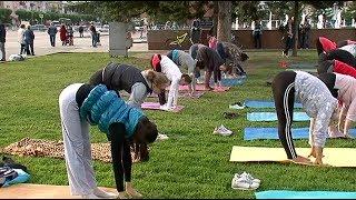 В первый раз День йоги отметили в Уссурийске