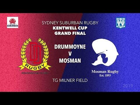2019 Sydney Suburb - Grand Finals - Kentwell Cup - Drummoyne v Mosman