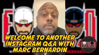 Welcome to Another Instagram Q&A with Marc Bernardin thumbnail
