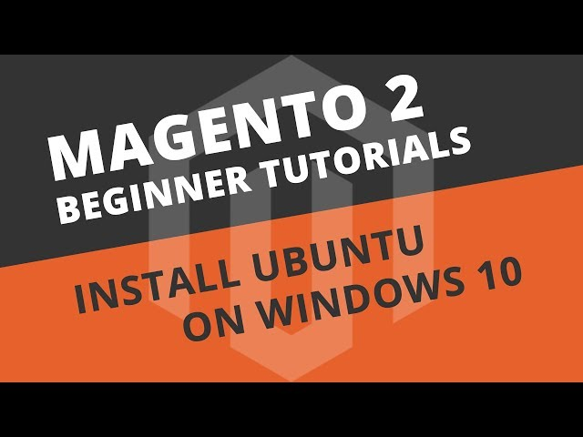 How to install Ubuntu Server 18.04 on Windows 10 (VirtualBox) - Magento 2 Tutorial