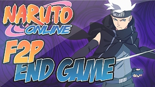 Naruto Online | Most Common Midnight Blade End-Game F2P Lineup
