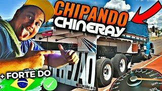 CHIPANDO A CHINERAY👽A + FORTE DO BRASIL !?🔴😱