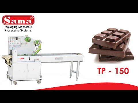 Chocolate Packing Machine TP 150 PLUS | Sama Engineering