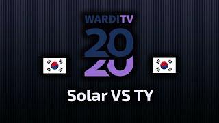 Solar VS TY - ZvT - Playoffy - WardiTV 2020 - polski komentarz