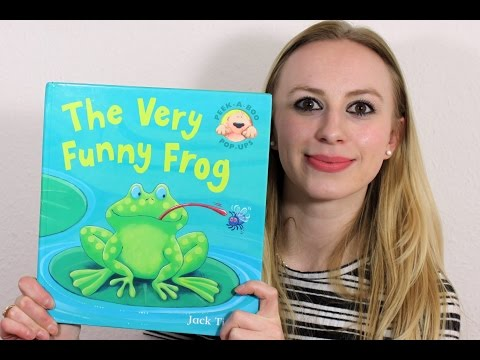 Alexandra Reads: THE VERY FUNNY FROG By Jack Tickle
