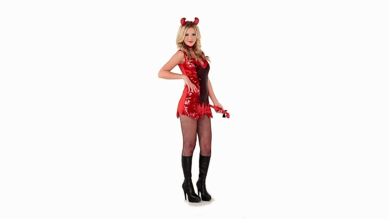 Disfraz de Diablita Halloween