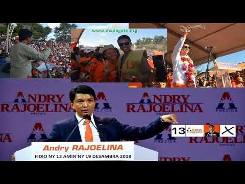 Andry Rajoelina N°13 aminy 19 Décembre 2018