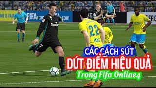 Cách Dứt Điểm Hiệu Quả Trong Fifa Online 4