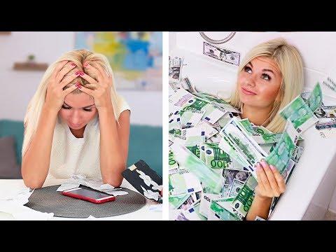 13 лайфхаков для экономии / Как выжить без денег?