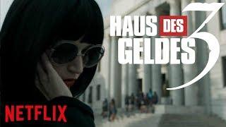 HAUS DES GELDES Staffel 3 (Teil 3) Teaser Trailer Deutsch German (2018) Netflix Original Serie