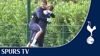 Goalkeeper downtime? | Training With Spurs