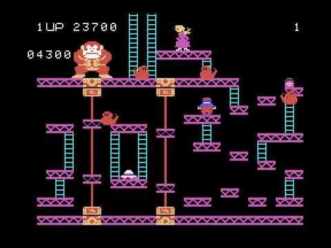 ColecoVision Longplay [001] Donkey Kong