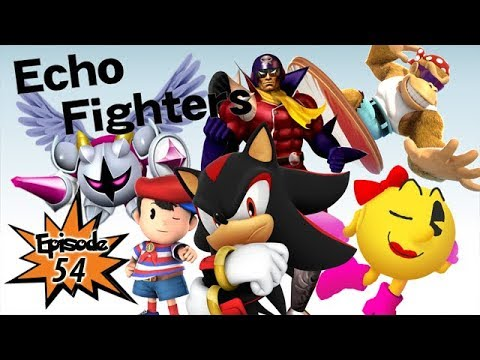 Yay Super Smash Bros! Ep54 - Echo Fighters! But no Tails :(