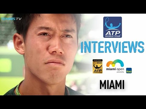 Nishikori Excited To Be Back At Second Home At Miami 2017