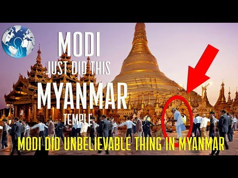 Narendra Modi just did this in Myanmar not in India World is asking