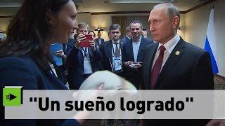La conmovedora historia de la peruana detenida por querer regalar un suéter a Putin