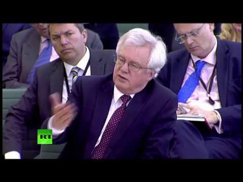 LIVE: David Davis testifies before MPs over Brexit