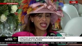 vuclip Lesotho Queen Masenate charity fundraising meeting, Johannesburg