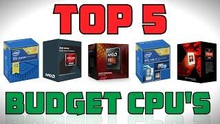 Top 5 Budget Gaming CPU