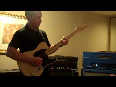 NY Amp Show Tomaszewicz TZZ-35H Demo - Billy Penn 300guitars