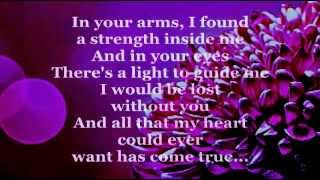 YOUR LOVE (The Greatest Gift Of All) Lyrics - JIM BRICKMAN feat. MICHELLE WRIGHT