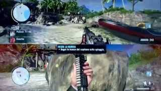 Gameplay Farcry 3 Ita - Prova missione coop Xbox 360
