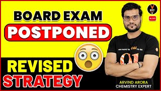 Last 35 Days Chemistry Super Strategy For Class 12 Board Exam 2021 Preparation | Arvind Sir