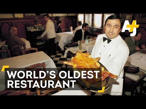 This Madrid Restaurant is the Oldest in the World