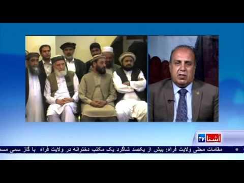 Zakaria Khan Zakaria, MP on peace talks with Hezb-e- Islami VOA Ashna TV