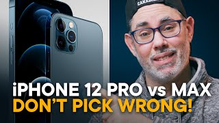 iPhone 12 Pro vs 12 Pro Max - Don't Choose WRONG!