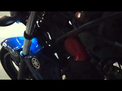 Hella™ Red Twin Tone™ on Yamaha FZ16