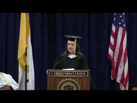 Valedictory Address | Laura Cermak
