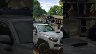 2 alarm Detached garage fire clean up 7/15/18