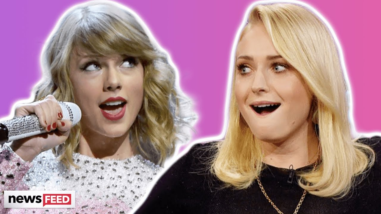 Taylor Swift & Sophie Turner Are The BIGGEST FANGIRLS Of Each Other!