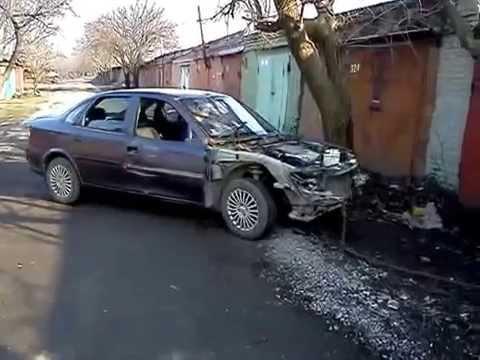 Вытягиваем лонжерон Opel Vectra B