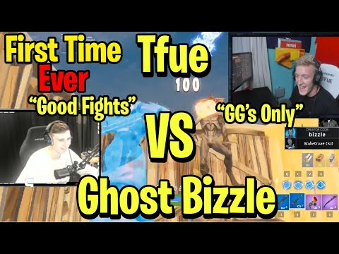 Tfue vs Ghost Bizzle Happens For The First Time Ever & Its *INSANE* 1v1 Creative Buildfights