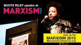 Boots Riley speaks @ Marxism 2014