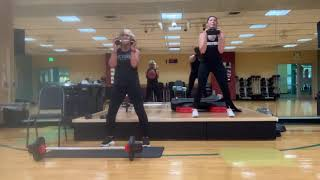 One hour total body workout to 'pump' you up with rachel perkins and philly mcmurrain