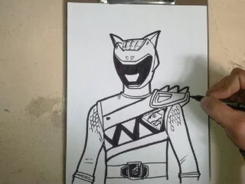 how to draw power ranger dino charge aqua how to draw. Black Bedroom Furniture Sets. Home Design Ideas