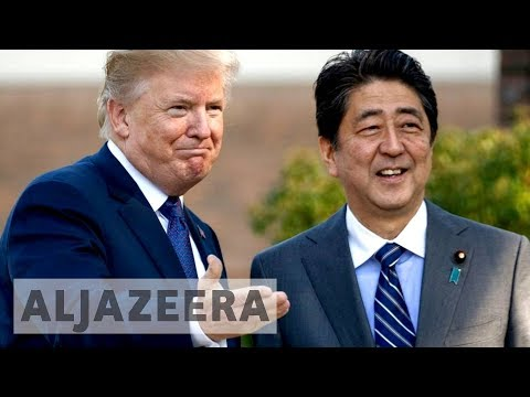 Trump kicks off Asia tour in Japan