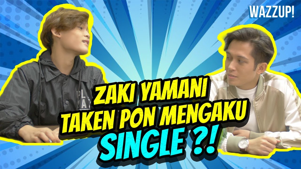 Zaki Yamani 'Taken' pon mengaku single? #Shorts