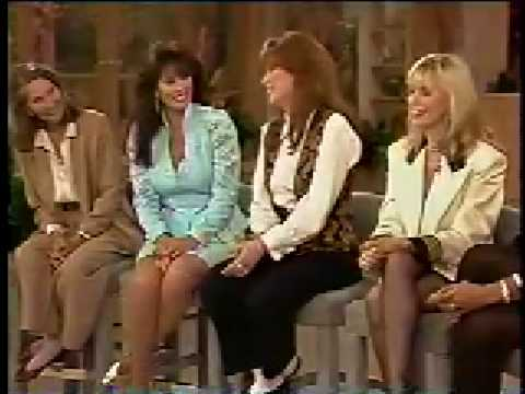 Price is Right Models on Vicki Lawrence Show - 1993