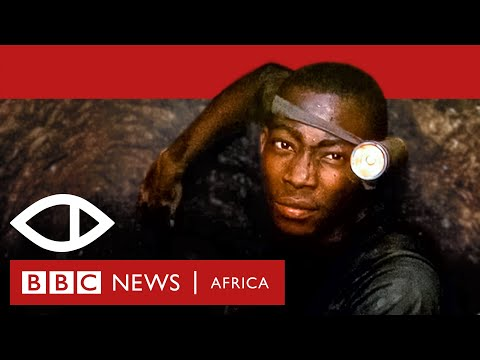 The Money Stone: Underground with a child gold miner in Ghana - BBC Africa Eye