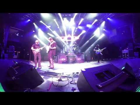 STEVE VAI:  IN 4K Virtual reality 360 PASSION & WARFARE TOUR