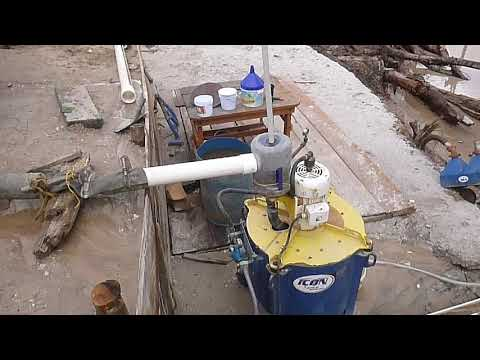 Alluvial Operation Using Jigs And Gravity Concentrator I350, In Guyana