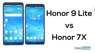 Honor 9 Lite vs Honor 7X