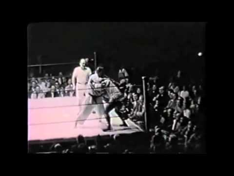 First televised MMA match in America - Gene LeBell vs Milo Savage